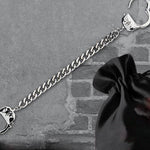 Echt etNox Chained and Locked Handcuff Bracelet | Angel Clothing