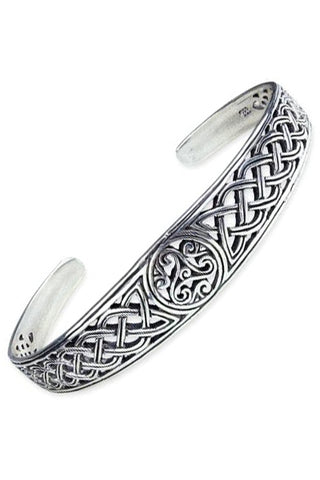 Echt etNox Celtic Triscel Braclet Sterling Silver | Angel Clothing