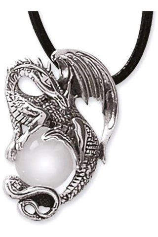 Echt etNox Crystal Dragon Pendant Sterling Silver | Angel Clothing