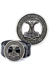 Echt etNox Mj��lnir Viking Belt Buckle | Angel Clothing