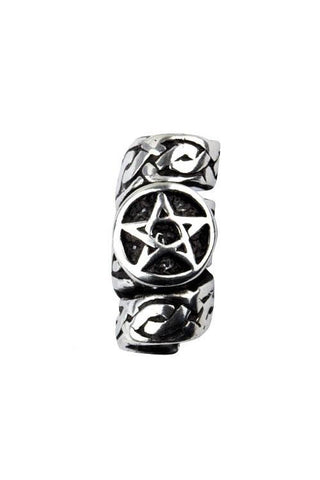Echt etNox Pentagram Beard Bead or Hair Pearl BP1016 | Angel Clothing