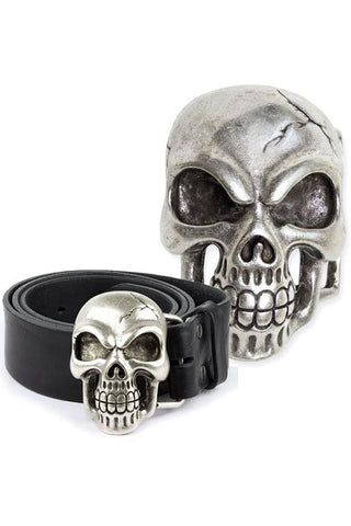 Echt etNox Skull Belt Buckle | Angel Clothing