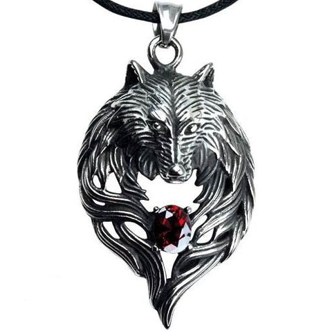 Echt etNox Wolf Head Pendant | Angel Clothing