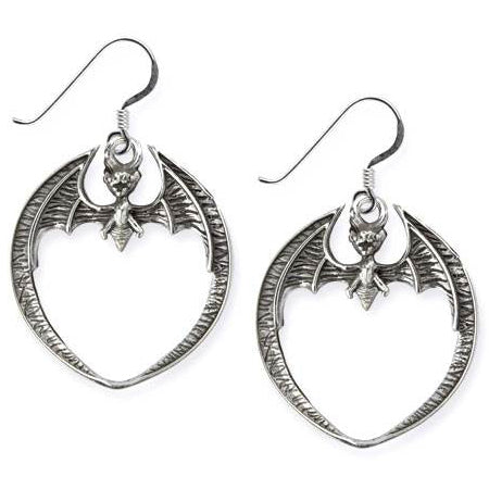 Echt etNox Bat Earrings Silver | Angel Clothing