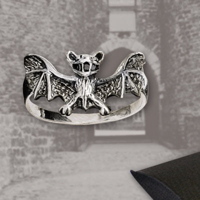 Echt etNox Bat Ring Silver | Angel Clothing