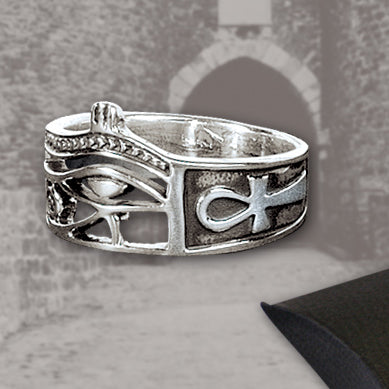 Echt etNox Eye of Horus Ring | Angel Clothing