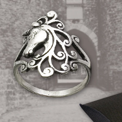 Echt Jewellery Et Nox Sterling Silver Unicorn Ring - Angel Clothing
