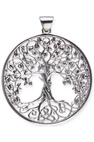 Echt LuxXL Sterling Silver Tree of Life Pendant | Angel Clothing