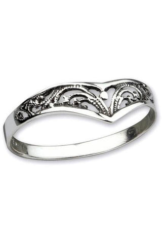 Echt LuxXL Elfish Sterling Silver Ring | Angel Clothing