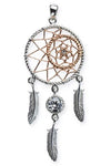 Echt LuxXL Sterling Silver Dreamcatcher Pendant | Angel Clothing