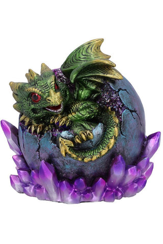 PRE-ORDER Emerald Hatchling Glow Dragon Green