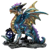 Enchanted Nightmare Blue Dragon Crystal Rock Soothsayer | Angel Clothing