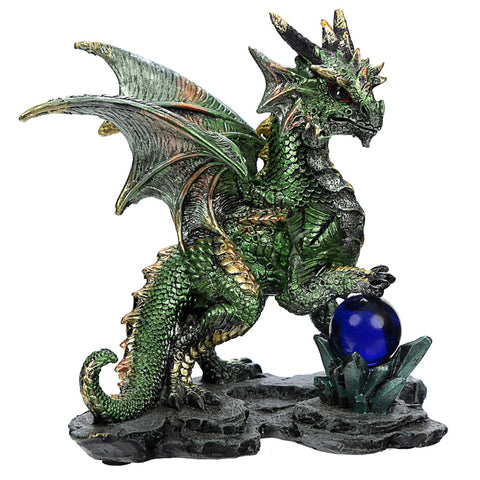 Enchanted Nightmare Green Dragon Crystal Rock Soothsayer | Angel Clothing