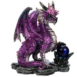 Enchanted Nightmare Purple Dragon Crystal Rock Soothsayer | Angel Clothing