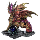 Enchanted Nightmare Red Dragon Crystal Rock Soothsayer | Angel Clothing