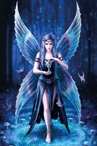Enchantment Fairy Card by Anne Stokes | Angel Clothing