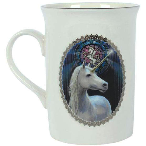 Enlightenment Unicorn Mug By Anne Stokes Gift Boxed - Angel Clothing