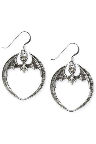 Echt etNox Bat Earrings Sterling Silver | Angel Clothing
