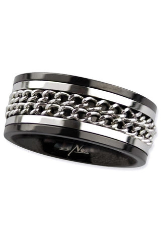 Echt etNox Double Chain Ring | Angel Clothing