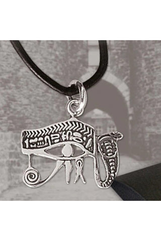 Echt etNox Eye of Horus Necklace Silver | Angel Clothing