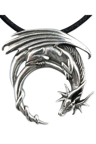 Echt etNox Fantasy Dragon Pendant Sterling Silver | Angel Clothing