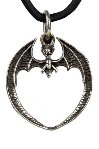 Echt etNox Bat Pendant Silver | Angel Clothing