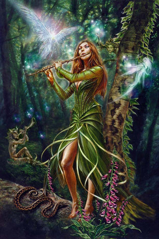 Faerie Reel Card by Briar | Angel Clothing