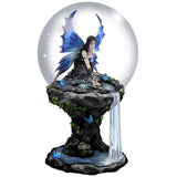 Anne Stokes Immortal Flight Snow Globe 100mm | Angel Clothing