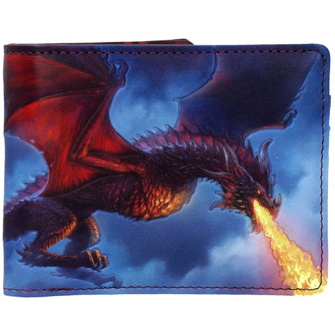 Fire From The Sky Wallet By James Ryman - Angel Clothing