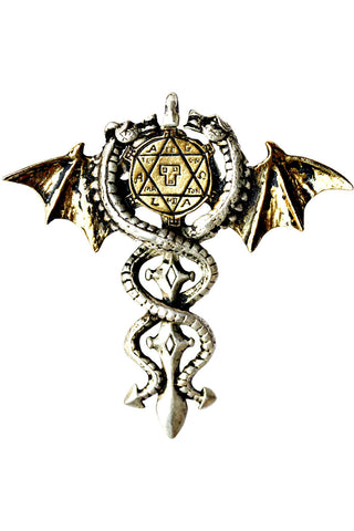 Forbidden Sacred Dragon Amulet Pendant | Angel Clothing