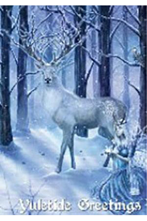 Frozen Fantasy Yuletide Card | Angel Clothing