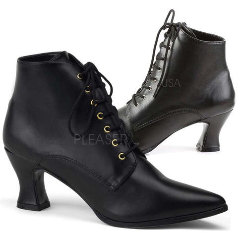 Funtasma Victorian 35 Boots Black | Angel Clothing