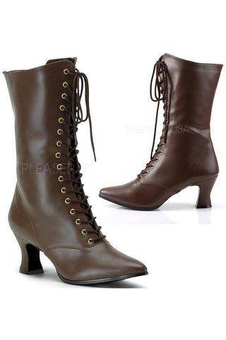 Funtasma Victorian 120 Boots Brown | Angel Clothing