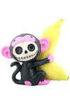 Furrybones Black Munky | Angel Clothing