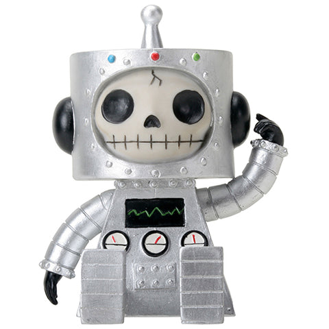 Furrybones Silver Robot Chip - Angel Clothing