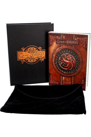 Fire and Blood Journal Game of Thrones | Angel Clothing