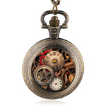 Steampunk Gears Pocket Watch | Angel Clothing