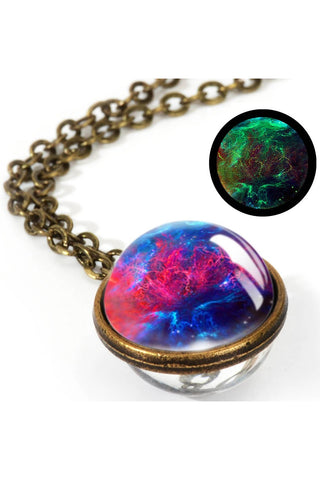 Glow Galaxy Sphere Pendant | Angel Clothing