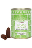 Goloka Jasmine Backflow Incense Cones | Angel Clothing