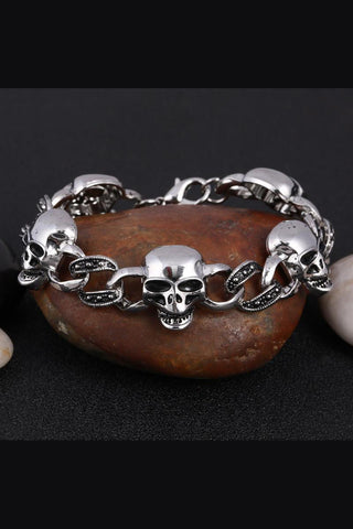 Gothic Skulls Bracelet | Angel Clothing