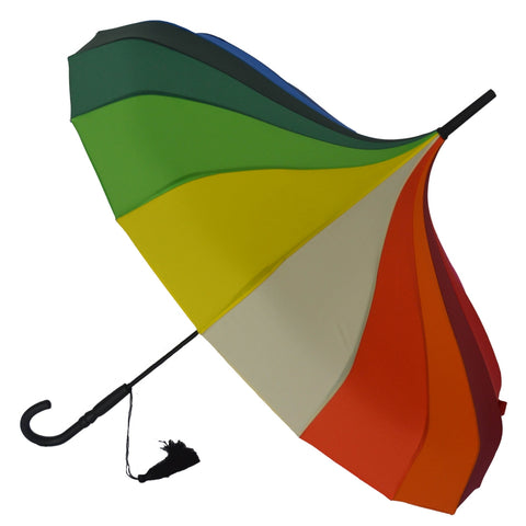 Gothic Umbrella, Rainbow Pagoda Umbrella / Parasol | Angel Clothing
