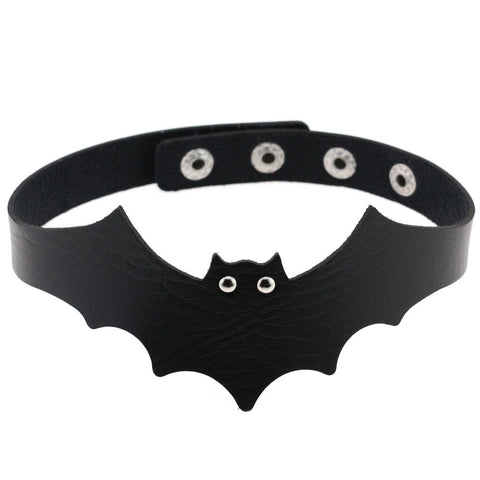 Gothic Bat Choker | Angel Clothing
