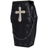 GOTHX Black Coffin Bag | Angel Clothing
