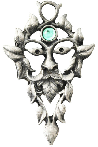 Greenwood Green Man Necklace | Angel Clothing
