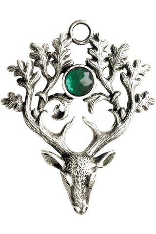 Greenwood The Stag Lord Pendant Necklace | Angel Clothing