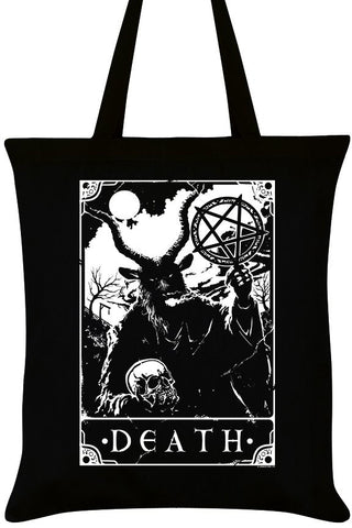 Deadly Tarot Death Tote Bag | Angel Clothing