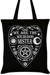 We Are The Weirdos Mister Ouija Tote Bag | Angel Clothing