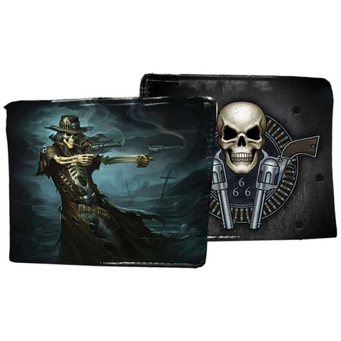 Gunslinger Wallet by James Ryman - Angel Clothing