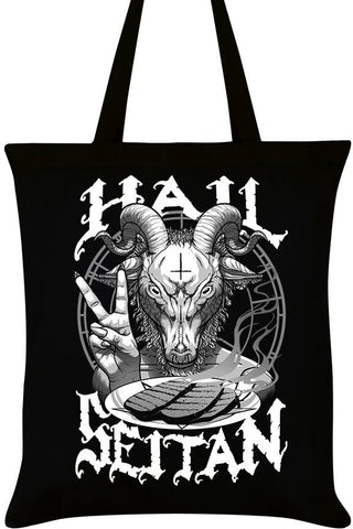 Hail Seitan Tote Bag | Angel Clothing