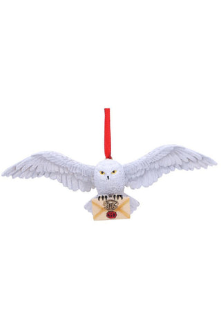 PRE-ORDER Harry Potter Hedwig Hanging Ornament | Angel Clothing